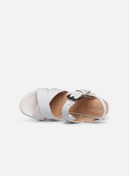 Sandales et nu-pieds Geox D ZERFIE E D92CEE Blanc vue gauche