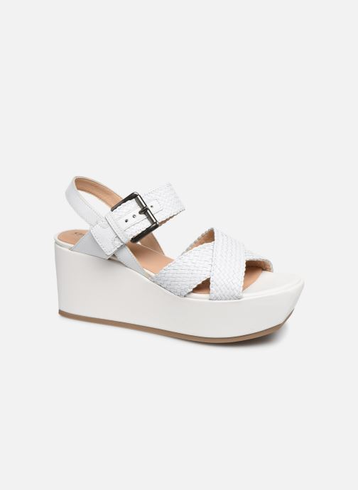 Sandales et nu-pieds Geox D ZERFIE E D92CEE Blanc vue détail/paire