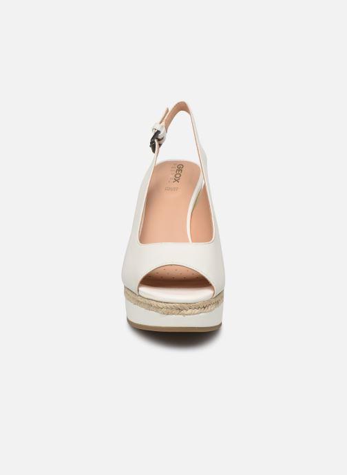 Sandales et nu-pieds Geox D YULIMAR A D92CFA Blanc vue portées chaussures