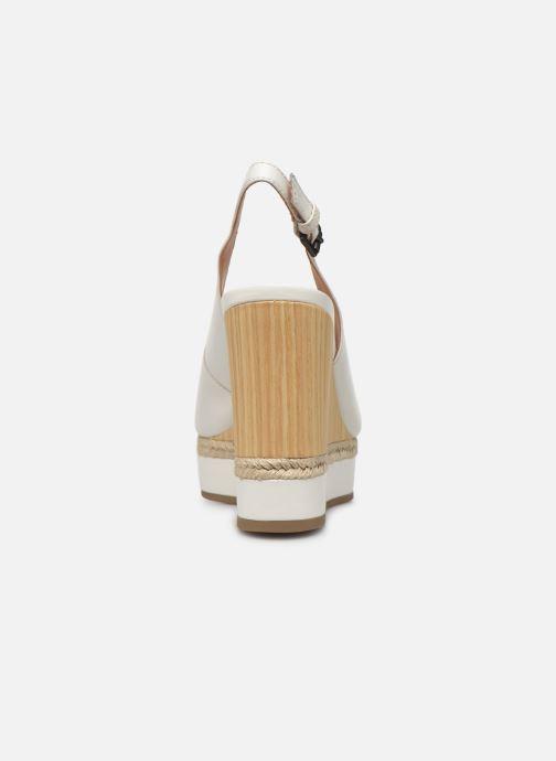 Sandales et nu-pieds Geox D YULIMAR A D92CFA Blanc vue droite