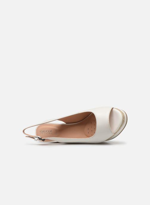 Sandales et nu-pieds Geox D YULIMAR A D92CFA Blanc vue gauche