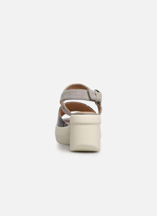 Sandales et nu-pieds Geox D TORRENCE A D92CPA Gris vue droite