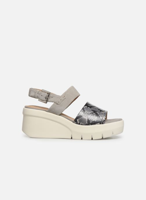 Sandalias Geox D TORRENCE A D92CPA Gris vistra trasera