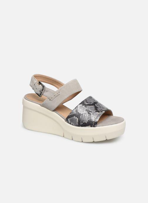 Sandales et nu-pieds Geox D TORRENCE A D92CPA Gris vue détail/paire