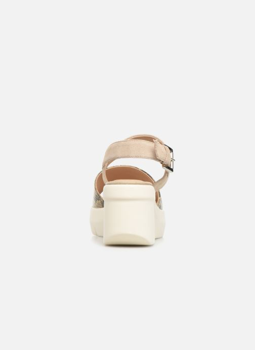 Sandalias Geox D TORRENCE A D92CPA Oro y bronce vista lateral derecha