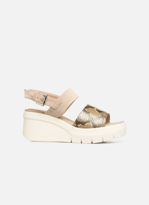 Sandalias Geox D TORRENCE A D92CPA Oro y bronce vistra trasera