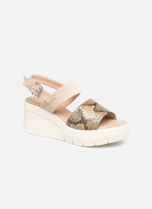 Sandales et nu-pieds Geox D TORRENCE A D92CPA Or et bronze vue détail/paire