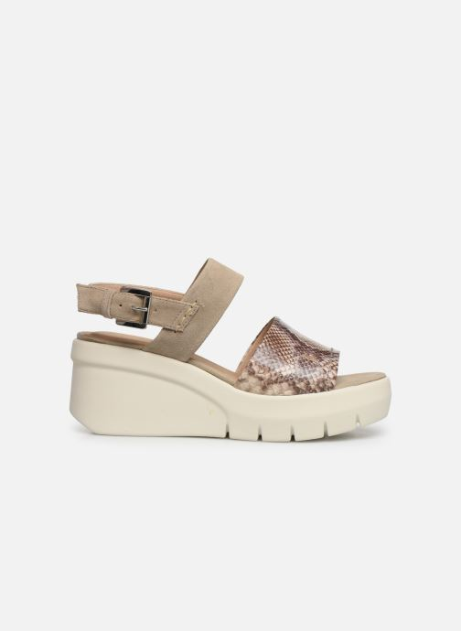 Sandalias Geox D TORRENCE A D92CPA Beige vistra trasera