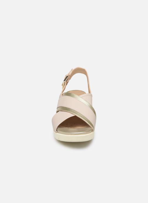 Sandaler Geox D TORRENCE B D92CPB Vit bild av skorna på