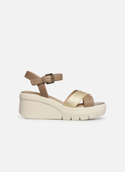 Sandales et nu-pieds Geox D TORRENCE B D92CPB Or et bronze vue derrière