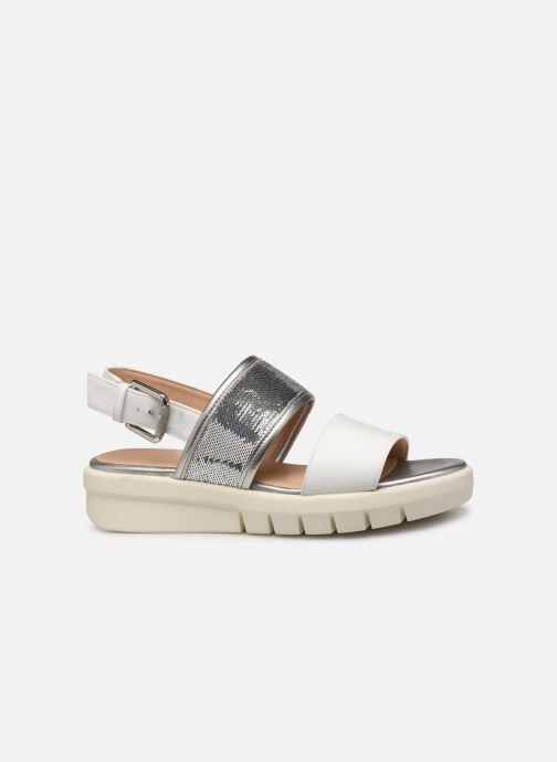 Sandales et nu-pieds Geox D WIMBLEY SAND A D92DPB Blanc vue derrière