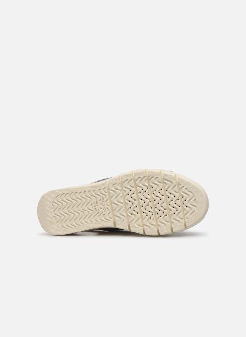 Sandales et nu-pieds Geox D WIMBLEY SAND A D92DPB Blanc vue haut
