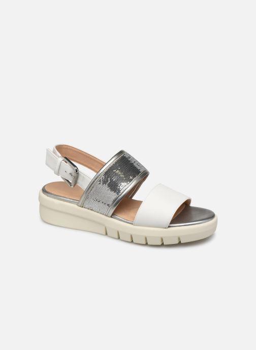 Sandales et nu-pieds Geox D WIMBLEY SAND A D92DPB Blanc vue détail/paire