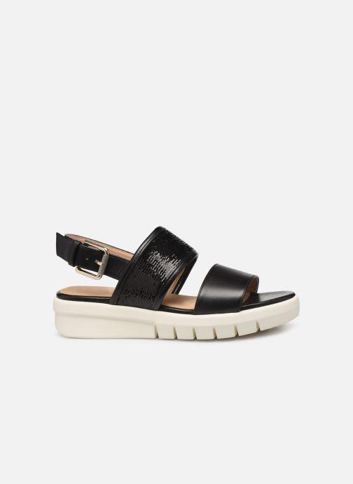 Sandales et nu-pieds Geox D WIMBLEY SAND A D92DPB Noir vue derrière
