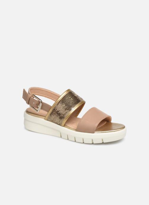 Sandales et nu-pieds Geox D WIMBLEY SAND A D92DPB Marron vue détail/paire