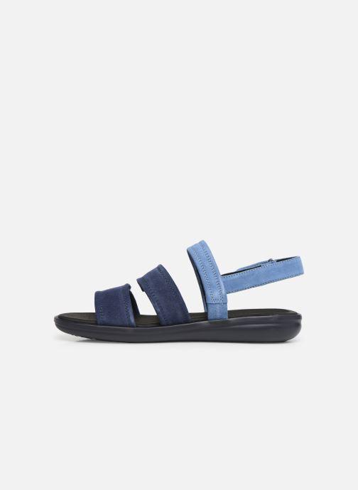 Sandales et nu-pieds Geox D JEARL SAND D D92DR Bleu vue face