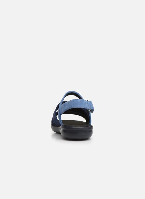 Sandales et nu-pieds Geox D JEARL SAND D D92DR Bleu vue droite