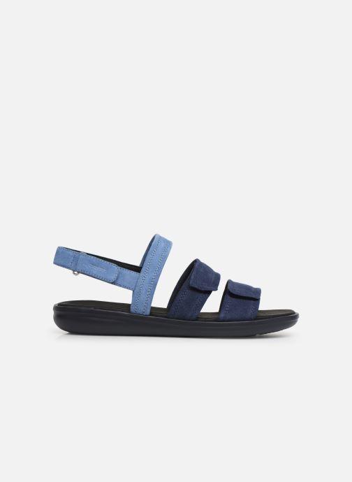 Sandales et nu-pieds Geox D JEARL SAND D D92DR Bleu vue derrière