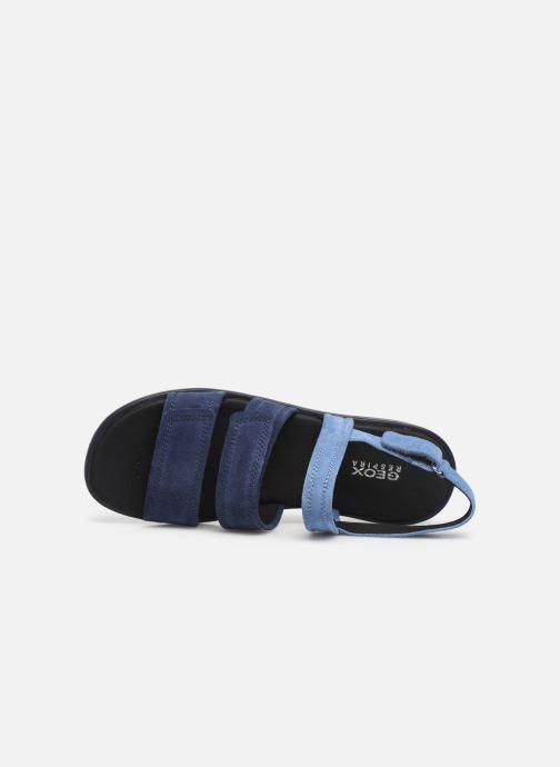Sandales et nu-pieds Geox D JEARL SAND D D92DR Bleu vue gauche