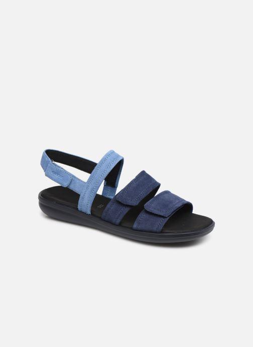 Sandales et nu-pieds Geox D JEARL SAND D D92DR Bleu vue détail/paire