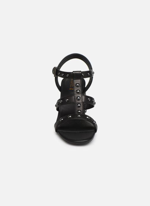 Sandales et nu-pieds Geox D SEYLA S D92DT Noir vue portées chaussures