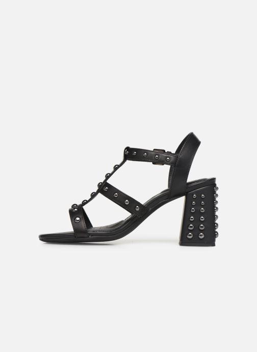 Sandales et nu-pieds Geox D SEYLA S D92DT Noir vue face