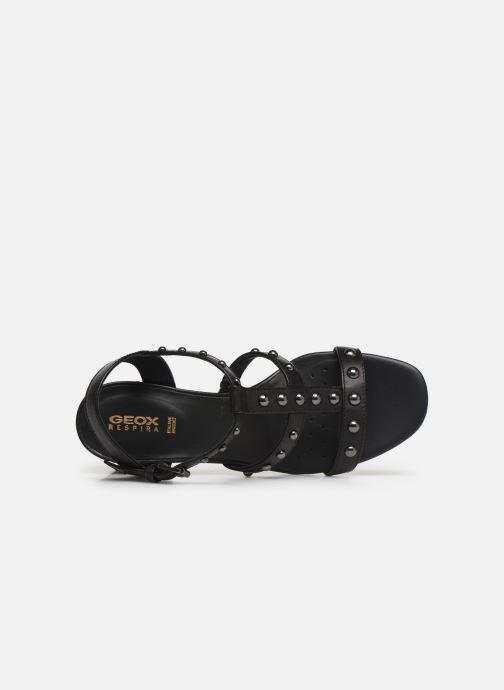 Sandales et nu-pieds Geox D SEYLA S D92DT Noir vue gauche