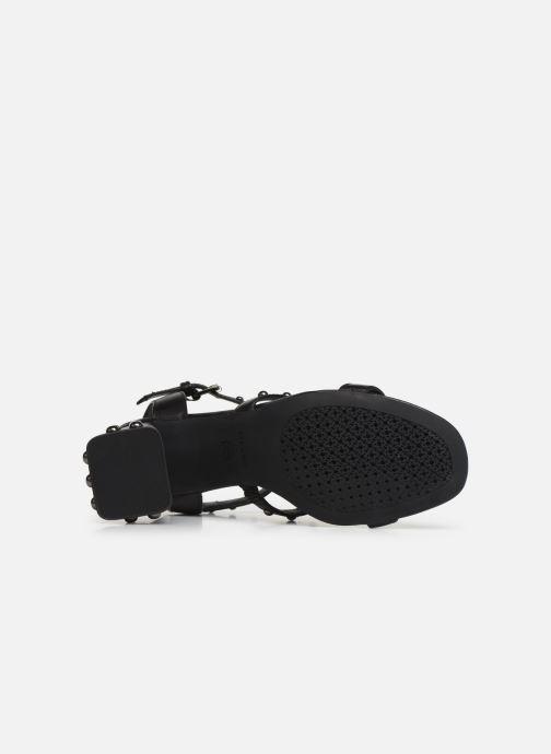 Sandales et nu-pieds Geox D SEYLA S D92DT Noir vue haut