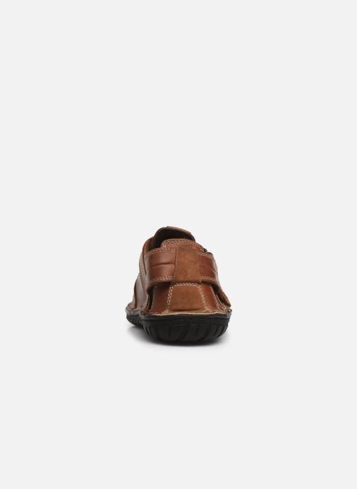 Sandals Geox U RUFUS A U72V4A Brown view from the right