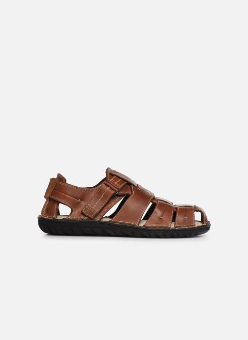 Sandales et nu-pieds Geox U RUFUS A U72V4A Marron vue derrière