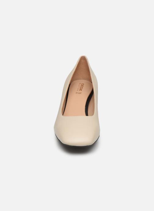Escarpins Geox D SEYLA G D828VG Blanc vue portées chaussures