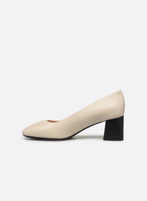 Zapatos de tacón Geox D SEYLA G D828VG Blanco vista de frente
