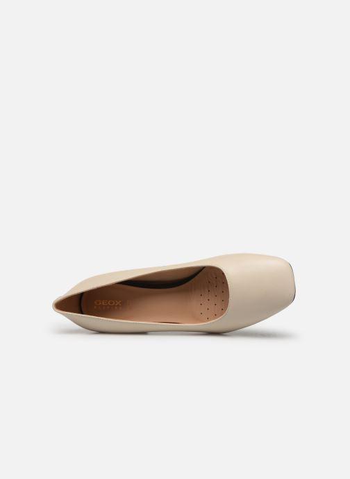 Zapatos de tacón Geox D SEYLA G D828VG Blanco vista lateral izquierda