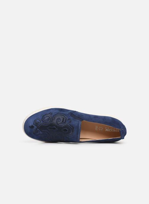Sneaker Geox D JAYSEN B D921BB blau ansicht von links