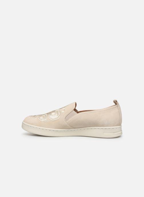 Sneakers Geox D JAYSEN B D921BB Bianco immagine frontale