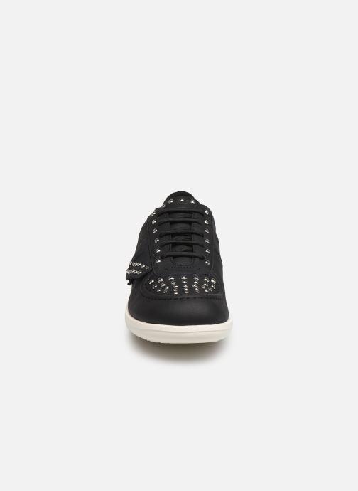 Baskets Geox D JEARL H D92CSH Noir vue portées chaussures