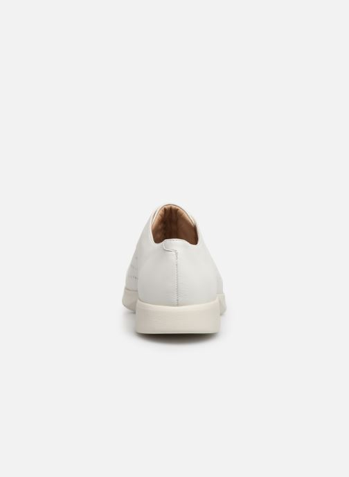 Chaussures à lacets Geox D ARJOLA C D92DHC Blanc vue droite