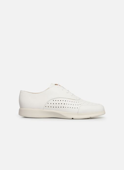 Chaussures à lacets Geox D ARJOLA C D92DHC Blanc vue derrière