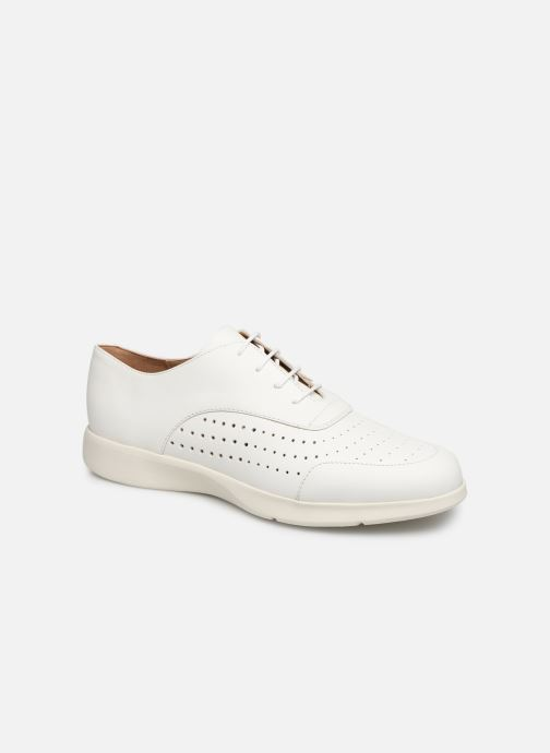Lace-up shoes Geox D ARJOLA C D92DHC White detailed view/ Pair view