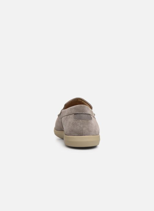 Loafers Geox U YOOKING A U924NA Grey view from the right