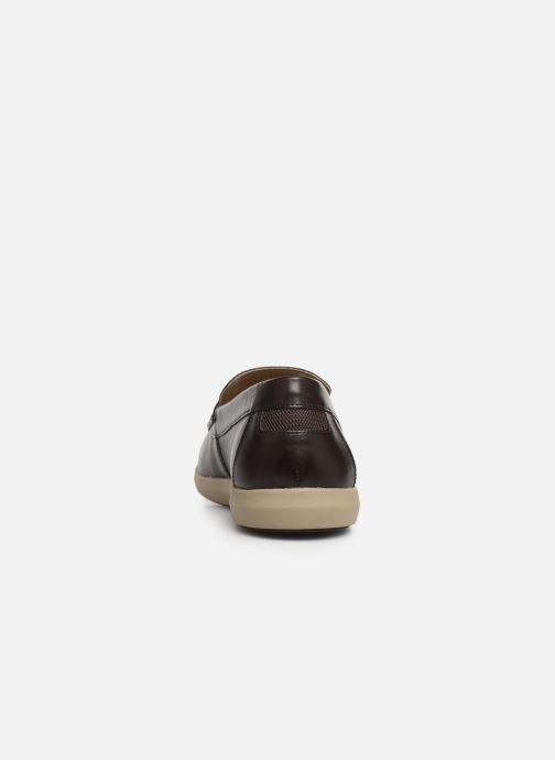 Loafers Geox U YOOKING A U924NA Brown view from the right