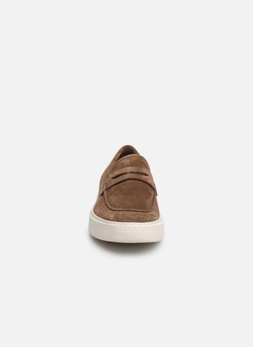 Mocassins Geox U DEIVEN B U925WB Marron vue portées chaussures