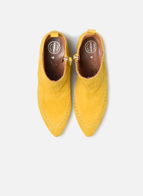 Bottines et boots Made by SARENZA Made By Sarenza x Daphné Burki Boots Jaune vue face