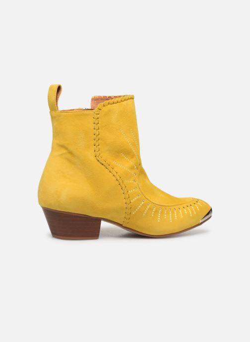 Bottines et boots Made by SARENZA Made By Sarenza x Daphné Burki Boots Jaune vue droite