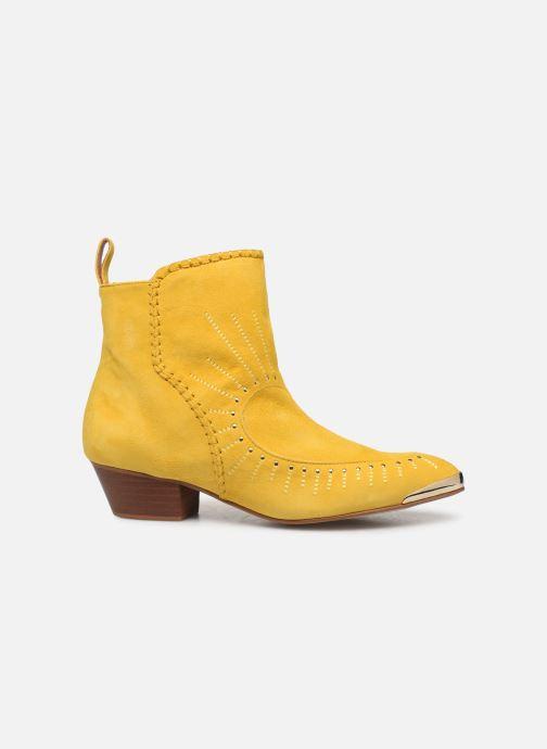 Bottines et boots Made by SARENZA Made By Sarenza x Daphné Burki Boots Jaune vue détail/paire