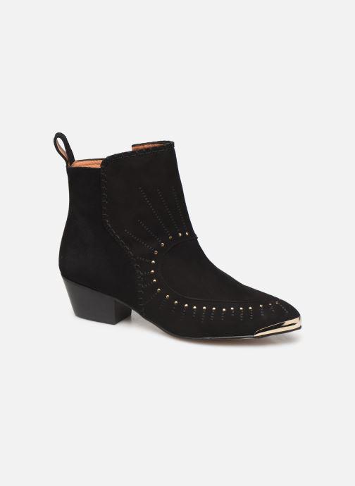 Bottines et boots Made by SARENZA Made By Sarenza x Daphné Burki Boots Noir vue derrière