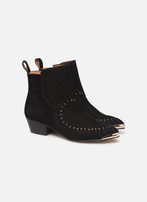 Bottines et boots Made by SARENZA Made By Sarenza x Daphné Burki Boots Noir vue gauche