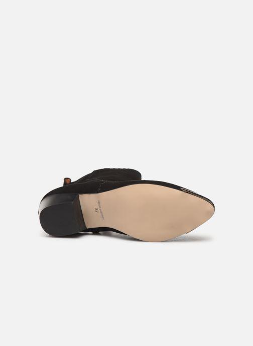 Bottines et boots Made by SARENZA Made By Sarenza x Daphné Burki Boots Noir vue haut