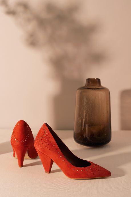Escarpins Made by SARENZA Made By Sarenza x Daphné Burki Escarpins Orange vue portées chaussures