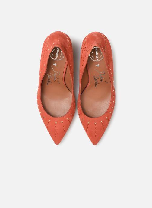Zapatos de tacón Made by SARENZA Made By Sarenza x Daphné Burki Escarpins Naranja vista de frente